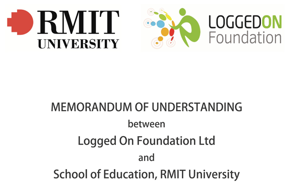 RMIT Logged On MOU Agreement