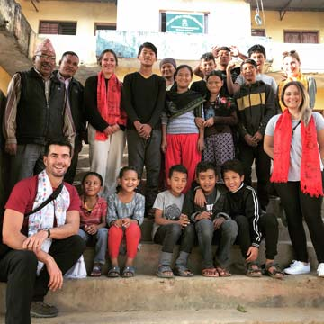 Teachers at Bal Mandir School & Orphanage