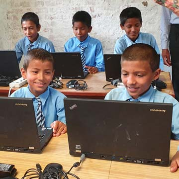 Computers for the Mangalodaya School